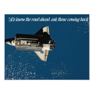 """INVT card, """"To know...road...ask those coming..."""" Custom Invites"""
