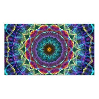 Inward Flower  kaleidoscope Business Card