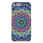 Inward Flower kaleidoscope Barely There iPhone 6 Case
