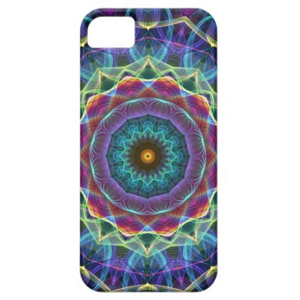 Inward Flower kaleidoscope iPhone 5 Case