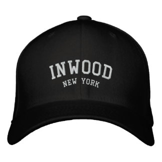 INWOOD Nueva York Gorra De Beisbol Bordada