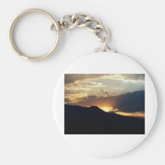 Inyo at Sunset Keychains
