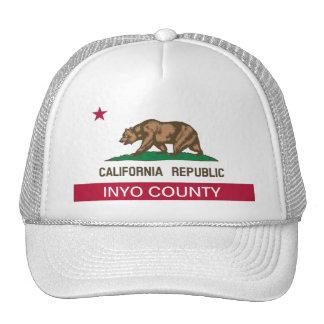 Inyo County california Mesh Hat