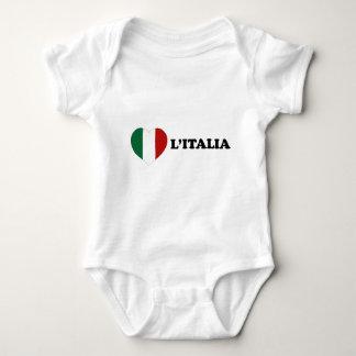 Io Amo Italia Baby Bodysuit