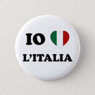 Io Amo Italia Button