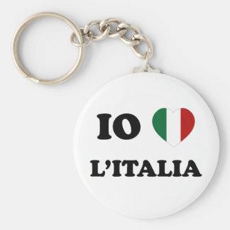 Io Amo Italia Keychain