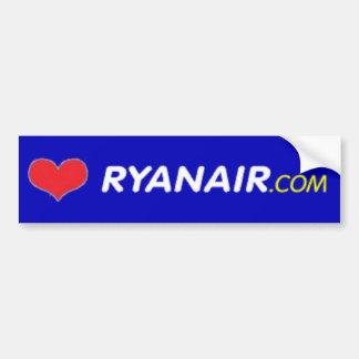 Io Amo Ryanair Bumper Sticker