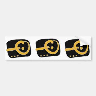 iO Car Bumper Sticker