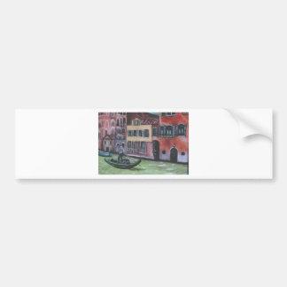 io e venezia car bumper sticker