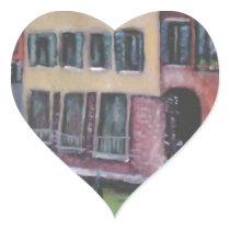 io e venezia heart sticker