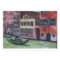 io e venezia postcard