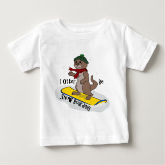 IOB Snow Boarding Baby T-Shirt