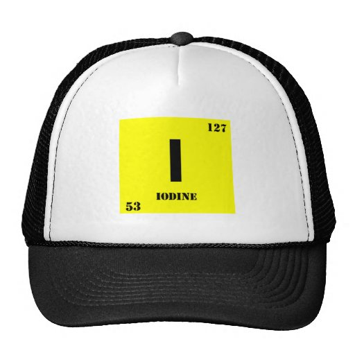 Iodine Mesh Hats