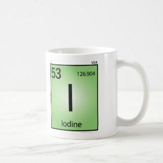 Iodine (I) Element Mug