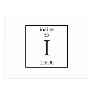 Iodine Post Cards