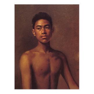 'Iokepa, Hawaiian Fisher Boy' - Postcard