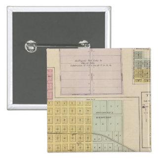 Iola, Torrance, and Kellogg, Kansas Pinback Button