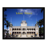 Iolani Palace in Honolulu, Hawaii Postcard