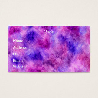 Iolanthe Watercolor Business Card