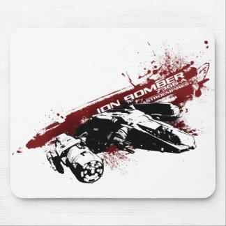 Ion Bomber splash mouse pad