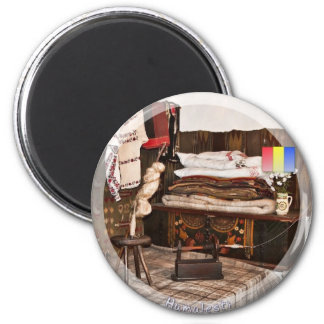 Ion Creanga memorial house 2 Inch Round Magnet