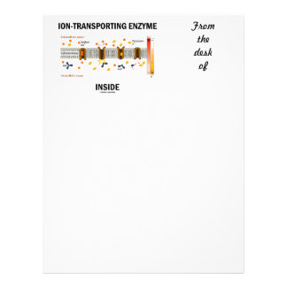Ion-Transporting Enzyme Inside (Active Transport) Letterhead