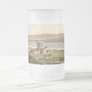 Iona Abbey, Argyll and Bute, Scotland Frosted Glass Beer Mug