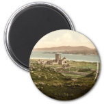 Iona Abbey, Argyll and Bute, Scotland 2 Inch Round Magnet