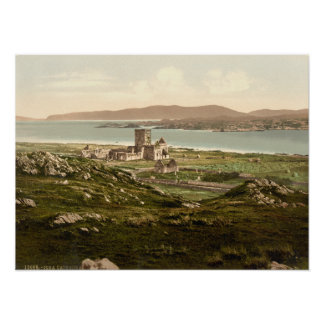 Iona Abbey, Argyll and Bute, Scotland Poster