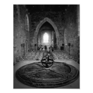 Iona Abbey Interior Photo Print