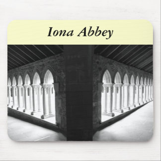 Iona Abbey Mouse Pad