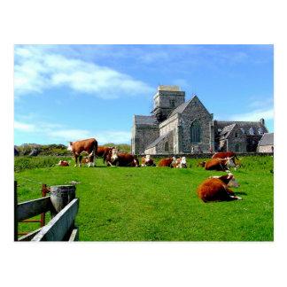 Iona Abbey Post Card
