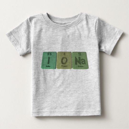 Iona as Iodine Oxygen Sodium Baby T-Shirt