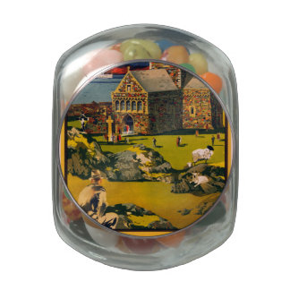 Iona - See this Scotland by MacBrayne's steamers Jelly Belly Candy Jar