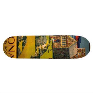 Iona - See this Scotland by MacBrayne's steamers Skateboard Deck
