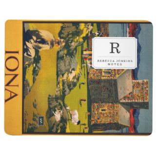 Iona - vea esta Escocia en vapores de MacBrayne Cuadernos Grapados