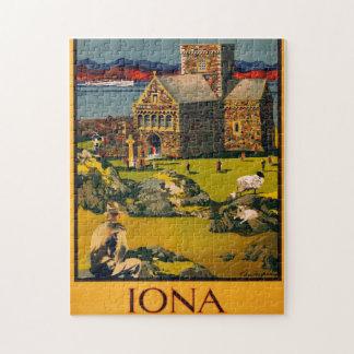 Iona - vea esta Escocia en vapores de MacBrayne Puzzle