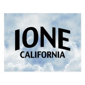 Ione California Postcard