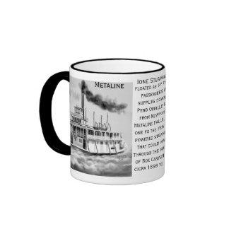 Ione Steamboat circa 1899 to 1910 Metaline, WA Mug