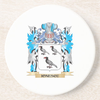 Ionescu Coat of Arms - Family Crest Coasters