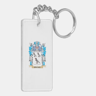 Ionescu Coat of Arms - Family Crest Rectangular Acrylic Keychain