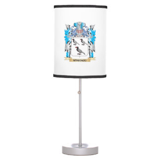 Ionescu Coat of Arms - Family Crest Table Lamp
