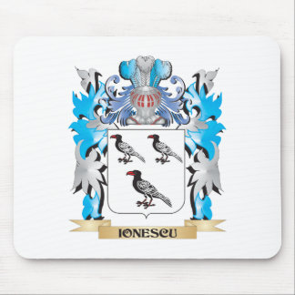 Ionescu Coat of Arms - Family Crest Mouse Pad