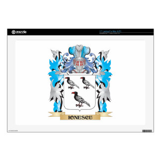 """Ionescu Coat of Arms - Family Crest Skin For 17"""" Laptop"""