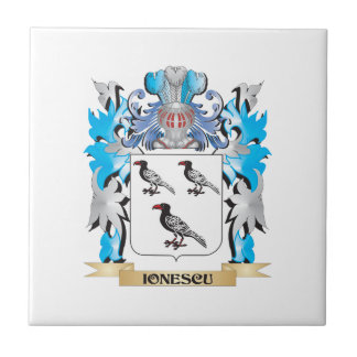 Ionescu Coat of Arms - Family Crest Tile