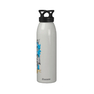 Ionescu Coat of Arms - Family Crest Water Bottle