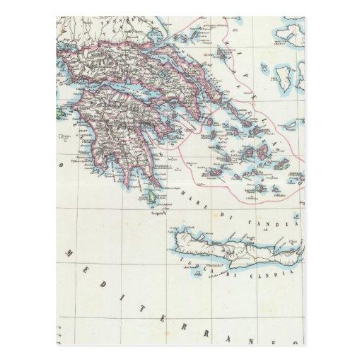 Ionian Islands, Greece Postcard