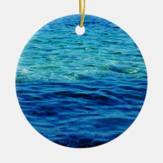 Ionian Sea Ceramic Ornament