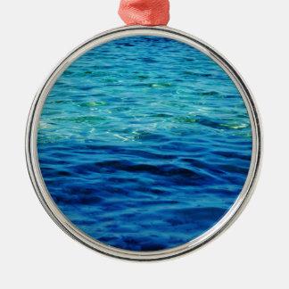 Ionian Sea Metal Ornament
