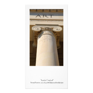 Ionic Capital Column Photo Card